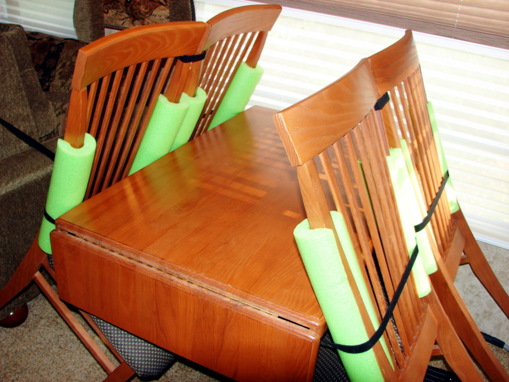 RV Do It Yourself Secure Your RV Chairs for Travel RV Camping Info