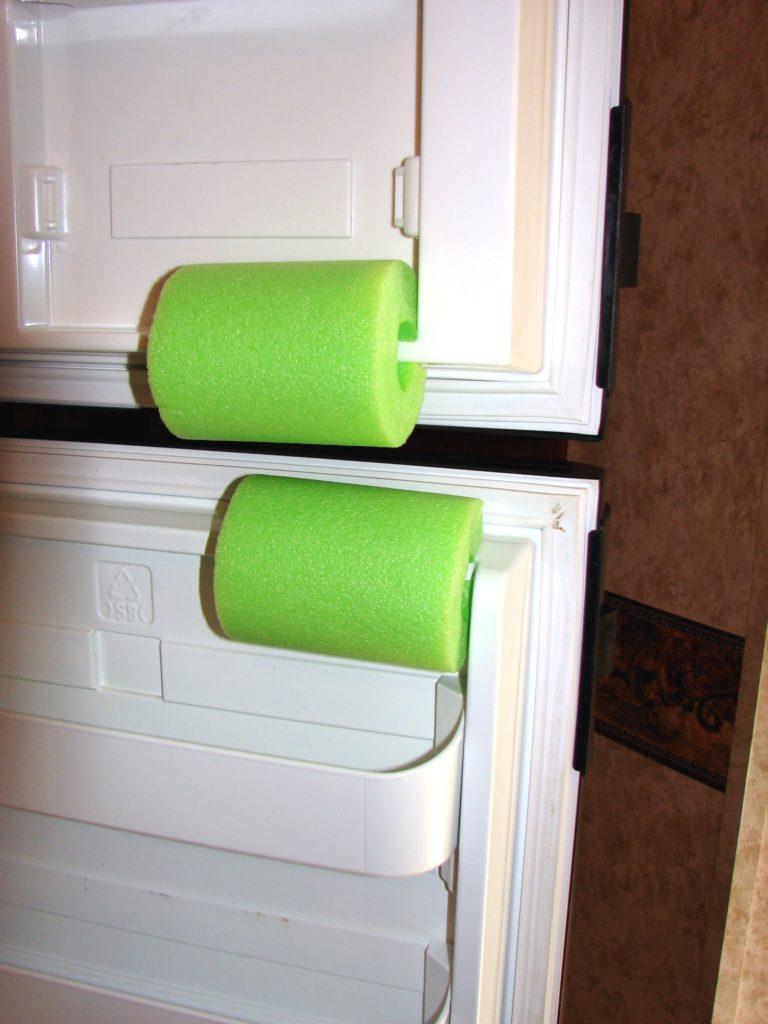 Rv do it yourself keep your rv refrigerator fresh rv for Car interior storage solutions