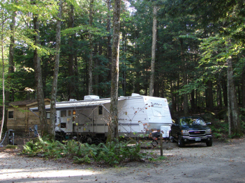 Lost River Valley Campground Site 48