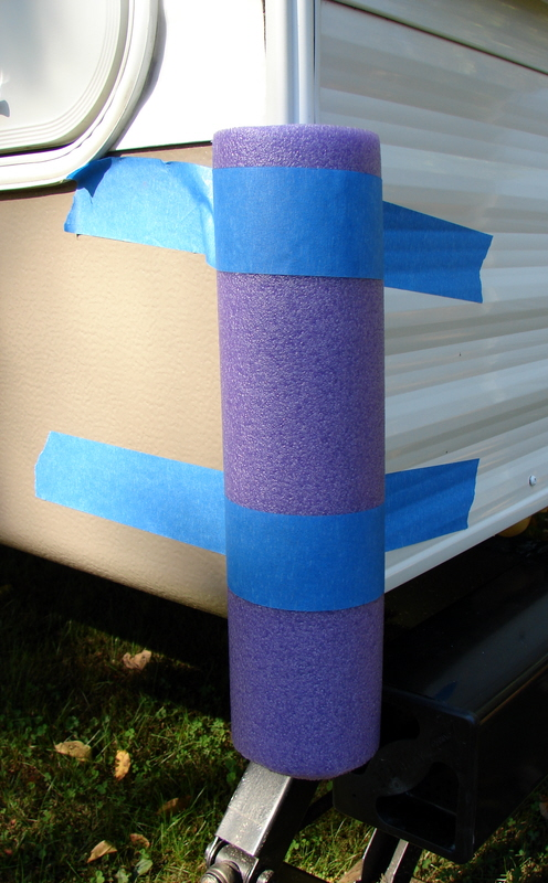 How To Protect Your RV Cover ― Use Your Noodle! — RV Camping